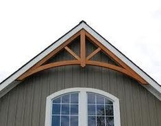 ...  we talked about adding cedar shake shingles to the front gable end. Description from ana-white.com. I searched for this on bing.com/images
