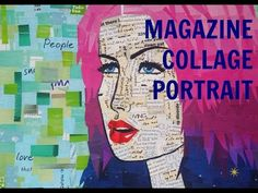 Magazine Collage Portrait Tutorial - YouTube