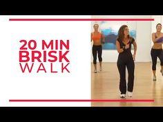 20 Minute Brisk Walk | Walk at Home Workouts - YouTube Easy Workouts, At Home Workouts, Elliptical Workouts, Leslie Walk, Walking Videos, Leslie Sansone, Walking Exercise, Walking Workouts, Fitness Workout For Women