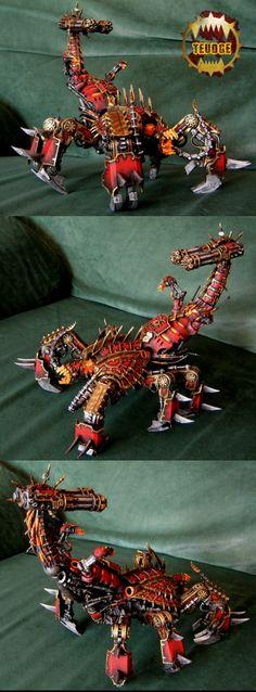 khorne brass scorpion world eater
