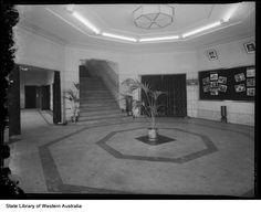 Savoy Cinema foyer, 1952