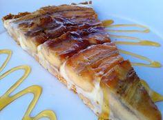 Aruna Cuisine Recipes: Torta de Bananas Caramelizadas