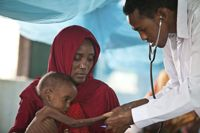 www.doctorswithoutborders.org - Doctors and nurses volunteer to provide urgent medical care in countries to victims of war and disaster regardless of race, religion, or politics.
