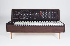 Minimoog analog synth sofa by Woouf Barcelona