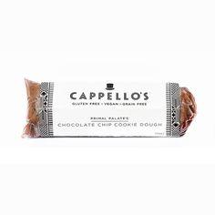 Cappello's Vegan Gluten- and Grain-free Chocolate Chip Cookie Dough Rolls