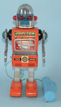 "Vintage Robot ""Jupiter"" Toy. Would make an awesome costume"