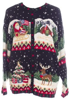 Patriotic Ugly Christmas Sweater from TheSweaterStore.com