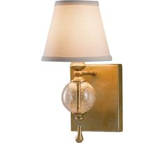 Murray Feiss Lighting WB1487OSL Argento 1 Light Sconce at Del Mar Fans &…