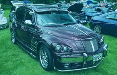 10 of the Worst Chrysler PT Cruiser Customs Ever Chrysler Pt Cruiser, My Ride, Vintage Cars, Convertible, Automobile, Weird, Product Launch, Vehicles, Ideas