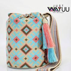"""269 Likes, 2 Comments - Just Wayuu (@just.wayuu) on Instagram: """"Handcrafted handbags made by indigenous wayuu in the north of Colombia. Worldwide shipping. PayPal…"""""""