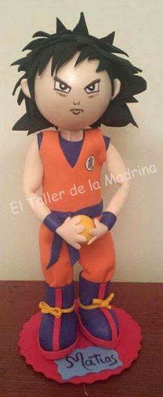 El Taller de la Madrina: DRAGON BALL - SON GOKU
