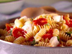 Get Fusilli alla Caprese Recipe from Food Network