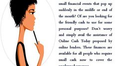 Online Cash Today - Provides Hurried Finance For Any Small Crunch Situation