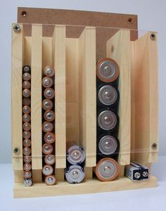 Batterie-Organizer und Lagerung (Diy Organization And Storage)