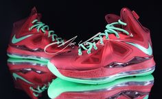 sports shoes 66e72 8b30b Cool And Stylish With Lebron James Shoes   Water Resist Lebron James Shoes  – popular Red Green Lebron James Shoes –