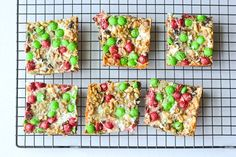 These Christmas magic cookie bars are a perfect treat to serve at a holiday party, just cut into bite size pieces and serve for a delicious holiday treat!