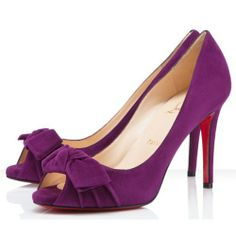 France Christian Louboutin Madame Butterfly Pump 100mm Amethyste