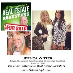 Jessica Witter has been a Real Estate agent for the past 6 years. She grew up in Cape Cod MA and graduated from Bryant University. Using her background in Communication, Marketing and sales training selling cars, Jessica has achieved great success early in her real estate career... #realestate #podcast #pathiban #hibandigital #hibangroup #HIBAN #realestatesales #realestateagent #realestateagents #selling #sales #sell #salespeople #salesperson #jessicawitter