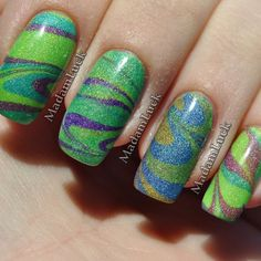 A water marble from madamluck on instagram