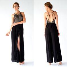 we love jumpsuit!!!! también perfectos para una fiesta y lucir muy elegante 2 #party #dress #MaxiDress #summer #shop #love #flores