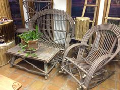 willow furniture | Willow Furniture Set | Kelly Crafts, Inc.