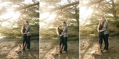 Alice and Dan's Beautiful Engagement Photos on the California Beach in Half Moon Bay with Photographer Simone Anne // SimoneAnne.com