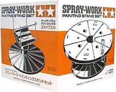 New-Tamiya-Spray-Work-Painting-Stand-Set-74522-F-S-Japan-Import-plastic-model