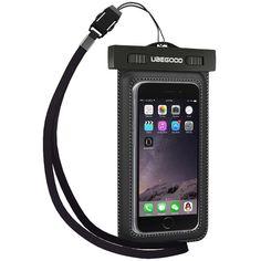 Universal Waterproof Dirtproof Snowproof Pouch Case for Smartphones Ubegood #Ubegood