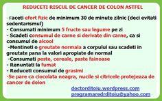 MONEYFUN: CUM REDUCEM RISCUL DECANCER DE COLON