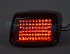 LED Motorcycle Tail Light Sequential Turn signal For HARLEY DAVIDSON DEUCE