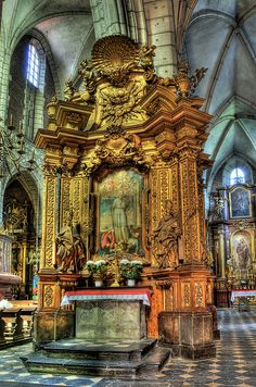 Church of Corpus Christi , Kazimierz Town, Krakow, Poland by JerzyW, via Flickr