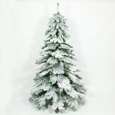 Purchase The Fantastic Snow Covered Flocked Downswept Artificial Christmas Tree By Festive Lights Trees Online Today