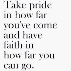 Pride..