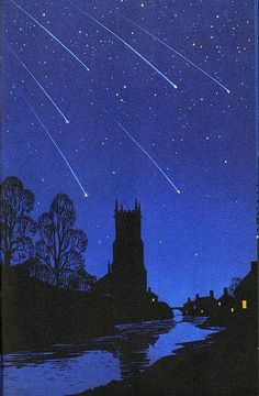 The Night Sky, a Ladybird Book, published in 1965 with illustrations by Robert Ayton
