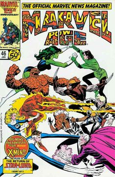 Marvel Age vol 1 #46 | Cover art by Jon Bogdanove & Terry Austin