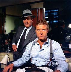 """Paul Newman y Robert Redford en """"El Golpe"""" (The Sting), 1973"""