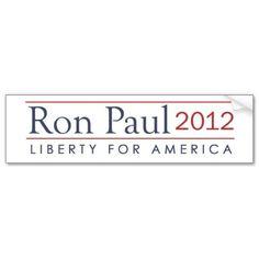 Ron Paul 2012  Liberty for America Big