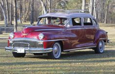 1948 Desoto Suburban, the Cunninghams' was Blue and Silver, but this was the same thing. (Happydays)