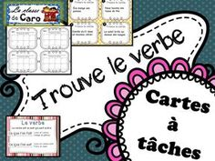 To Learn French Ideas Printing Videos Glasses Code: 5558555186 Core French, French Class, French Teacher, Teaching French, Les Homophones, French Verbs, Classroom Procedures, Teacher Helper, Spelling Activities