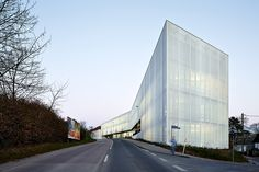 Fritz-Lipmann-Institute, Jena – translucent facade made of PTFE glass mesh fabric - {{page::rootPageTitle}} - Temme Obermeier | Experts for Membrane Building