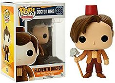 Funko POP TV: Doctor Who Eleventh Doctor Fez Hat & Mop Exclusive Figure - deal and steals ideas Doctor Who, Eleventh Doctor, Funko Pop Figures, Pop Vinyl Figures, Hot Topic, Funko Pop Dolls, Pop Figurine, Pop Toys, Pop Television