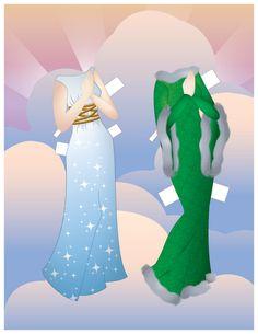 Paper Doll School - Julie Matthews - Picasa Webalbum