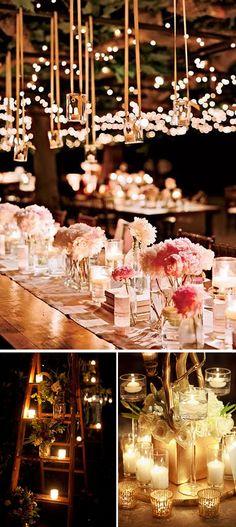Veladas románticas a la luz de las velas