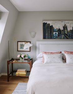Ideas For Bedroom Grey Small Interior Design Lavender Grey Bedrooms, Bedroom Green, Bedroom Wall, Modern Bedroom, Mauve Bedroom, Garden Bedroom, Bedroom Vintage, Bedroom Furniture, Teenage Beds