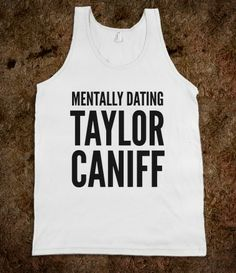 MENTALLY DATING TAYLOR CANIFF TANK TOP (IDC102329) i need this tank top