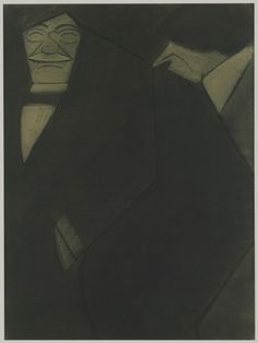 Marius de Zayas |  John Marin and Alfred Stieglitz  (ca. 1912-13)
