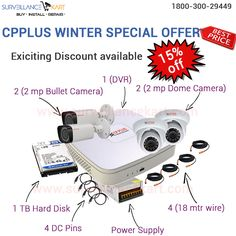 Winter Special Offer! Get #cctvsystem at discounted rates. Grab it Now!!