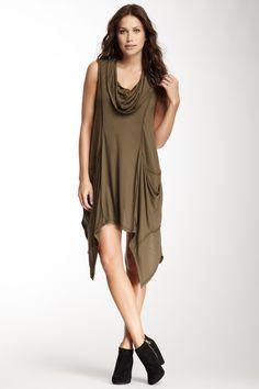 Cowl Neck Dress on HauteLook