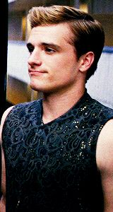 Day 1 my favorite character has to be Peeta Mellark by heart because he is handsome and caring and he has a way with words that touch my