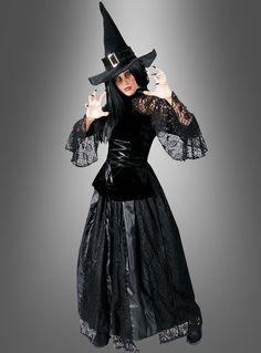 Hexenkostüm Damen für Karneval und Halloween